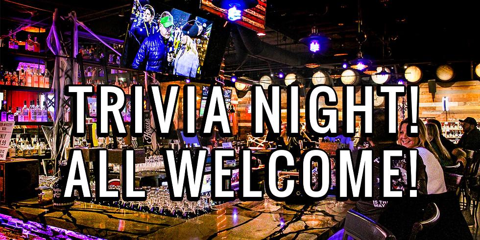 Bar Trivia Night in Speakeasy Style Bar