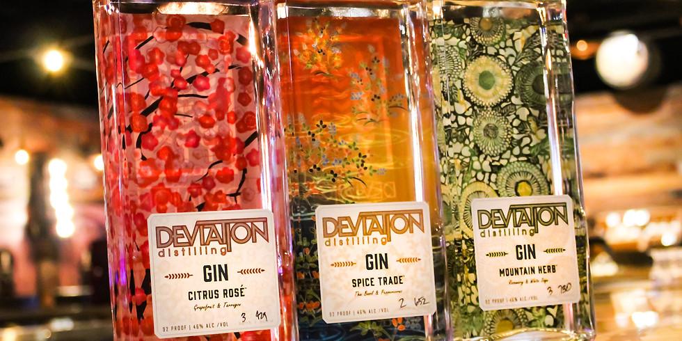Deviation Gin Tasting