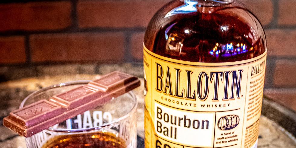 Free Whiskey Tasting Ft. Ballotins Chocolate Whiskey