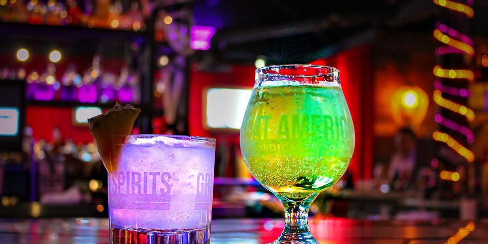 Glow in the Drink Halloween Weekend Event