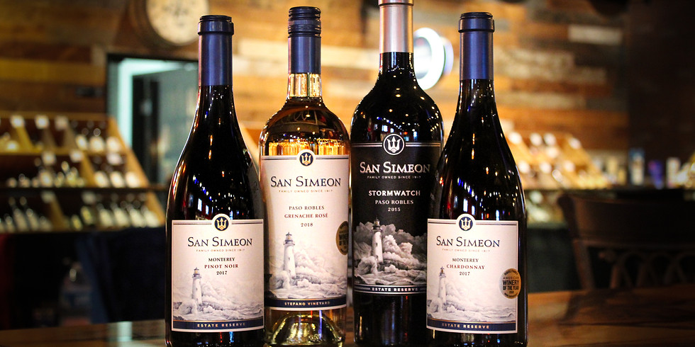 Complimentary Wine Tasting ft. San Simeon!
