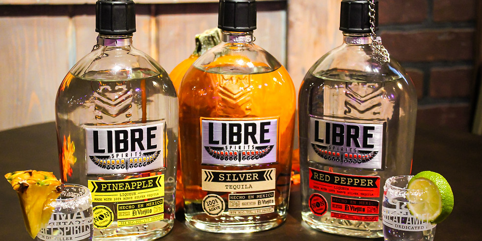 Libre Tequila Complimentary Tasting