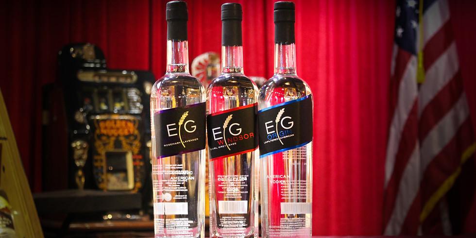 Complimentary Vodka Tasting ft. EG Vodka!