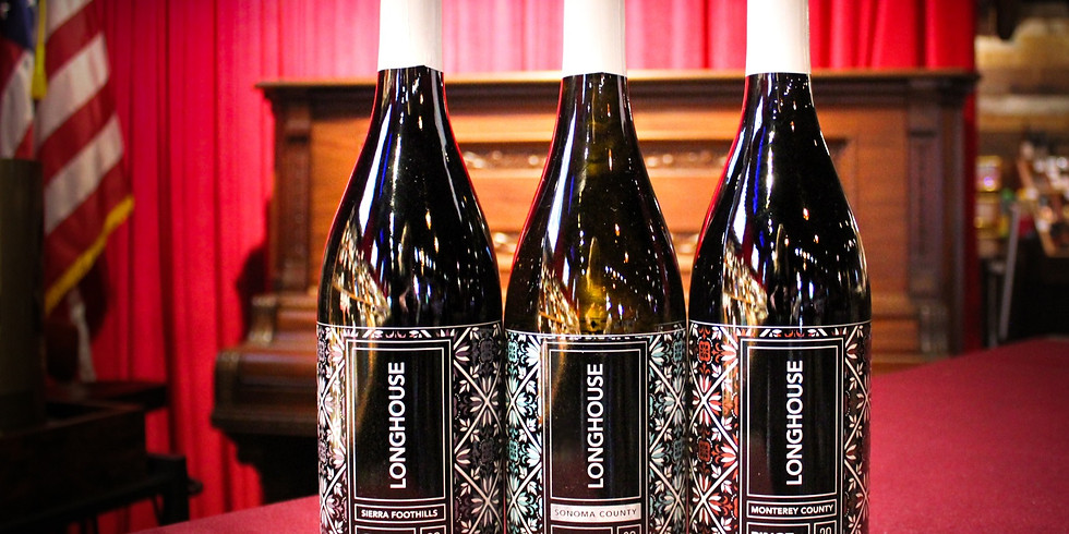 Complimentary Wine Tasting ft. Longhouse Wines!