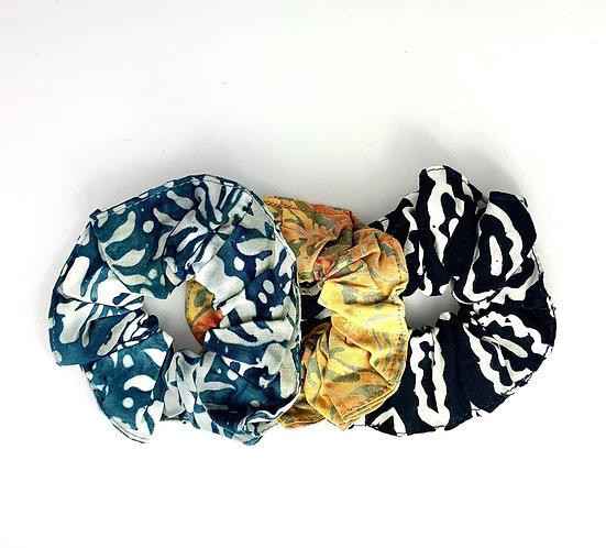 Chouchous Batik Colorés lot de 3