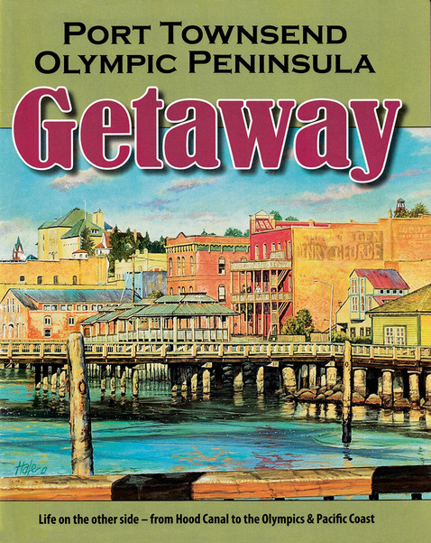 Olympic Peninsula Visitor Guide Cover