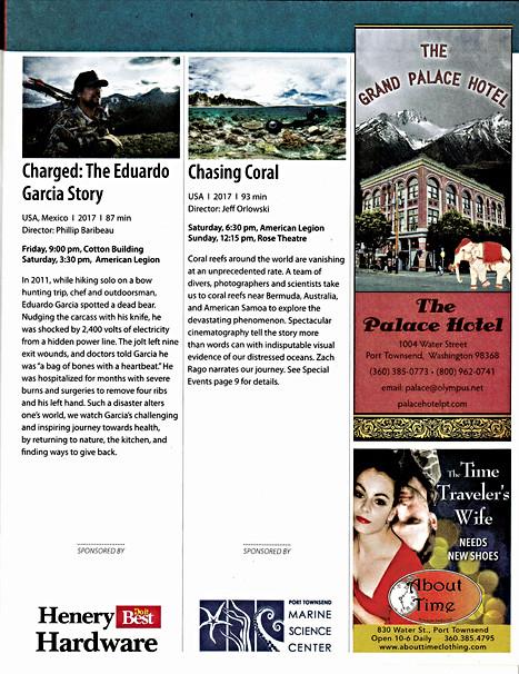 PTFF Program right-hand page