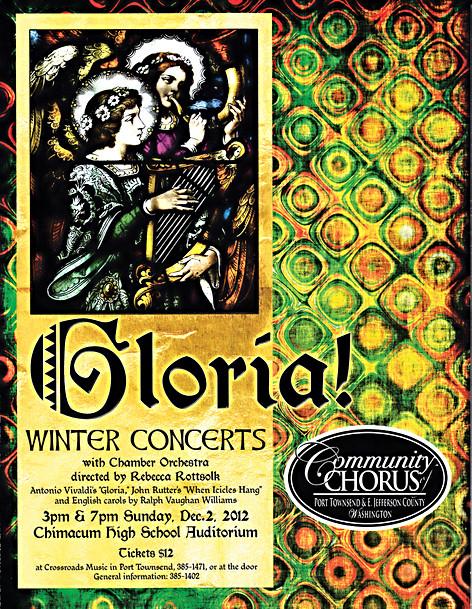 Community Chorus Concert Poster