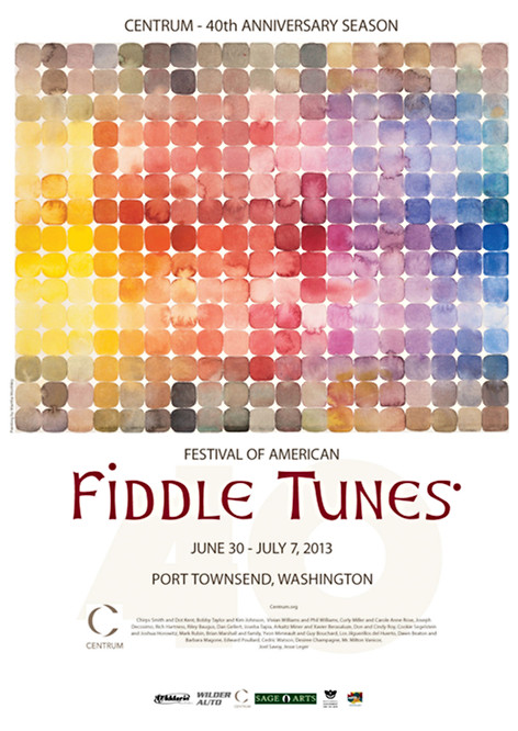 Fiddle Tunes Festival Poster