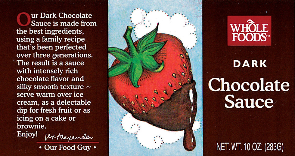 Strawberry for Chocolate Sauce