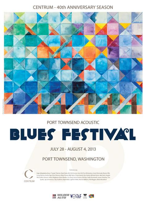 Blues Festival Poster