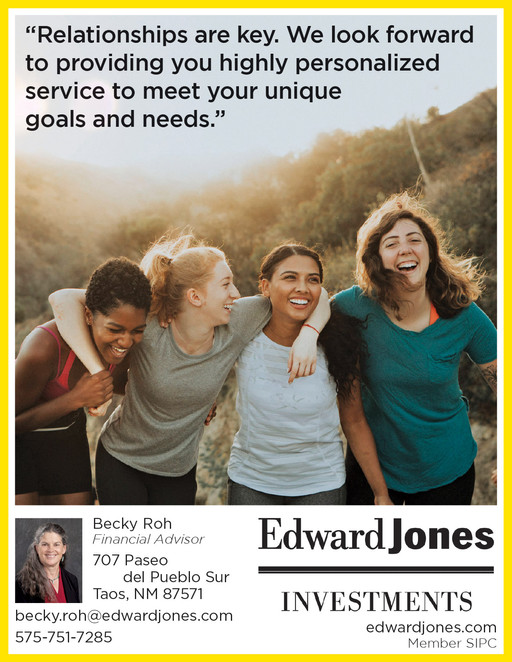 Ed Jones small space ad