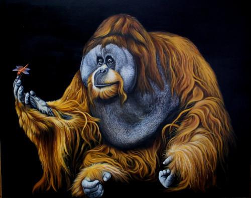 Gentle Orangutan .JPG