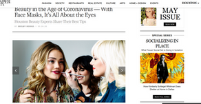 Beauty in the Age of Coronavirus — With Face Masks, It's All About the Eyes [& Brows]