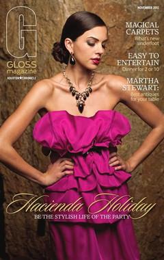 Houston Chronicle Gloss Magazine Cover November 2011