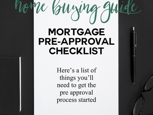Get the Guide-Mortgage Pre-Approval Checklist!