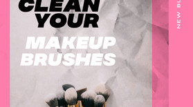 Resolution Hacks: HOW TO WASH YOUR MAKEUP BRUSHES by luckycatbeauty