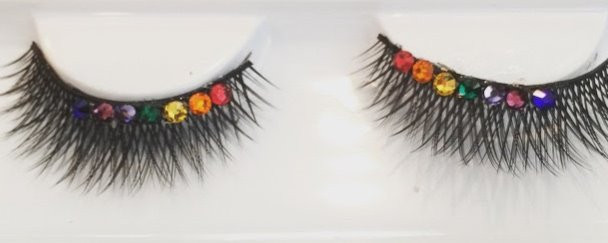 Swarovski Crystal PRIDE Lashes by Lucky Cat Beauty