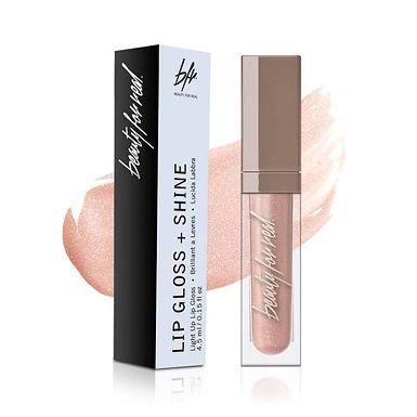 Rose Gold Starlust Lip Gloss Beauty For Real