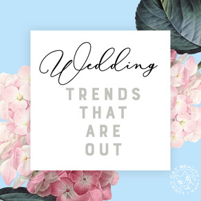 UNBRIDLED: Bridal Trends that are OUT.. and what to expect for 2020