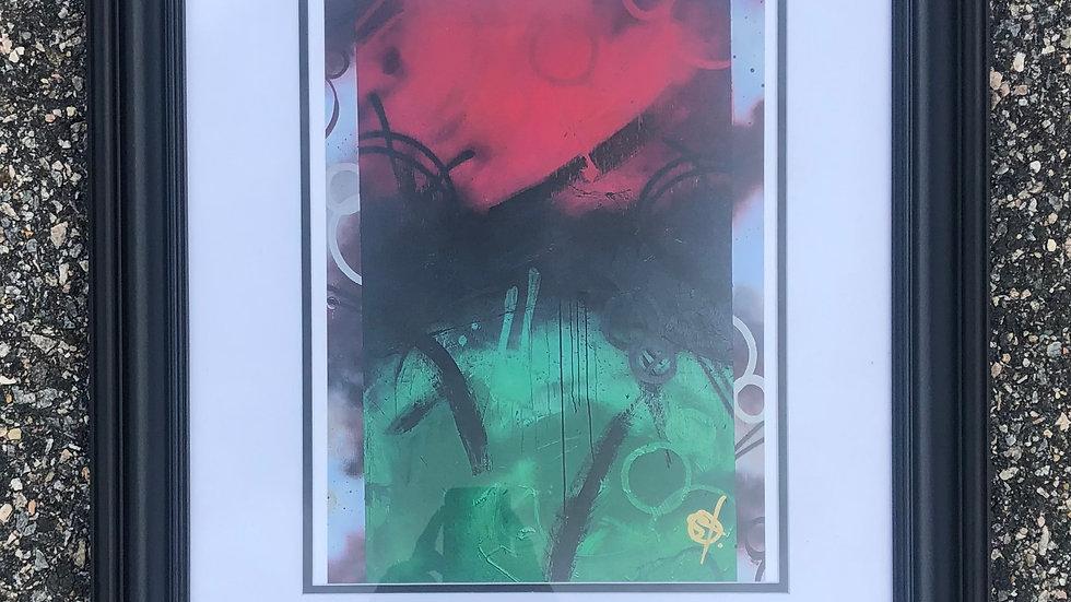 Garvey - Framed Print