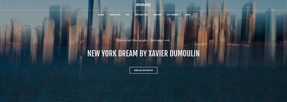 New York Dream, Xavier Dumoulin Photographe