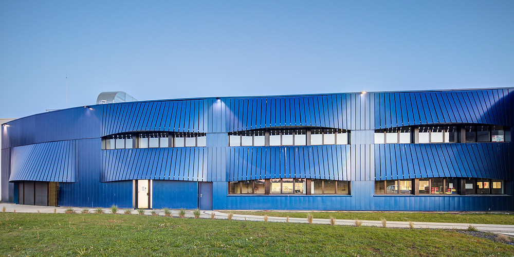 Arcelor Mittal, Camborde architectes Xavier Dumoulin Photographe Pau