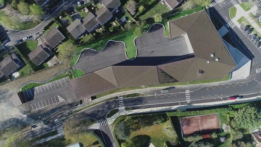 Video drone Ecole Lons