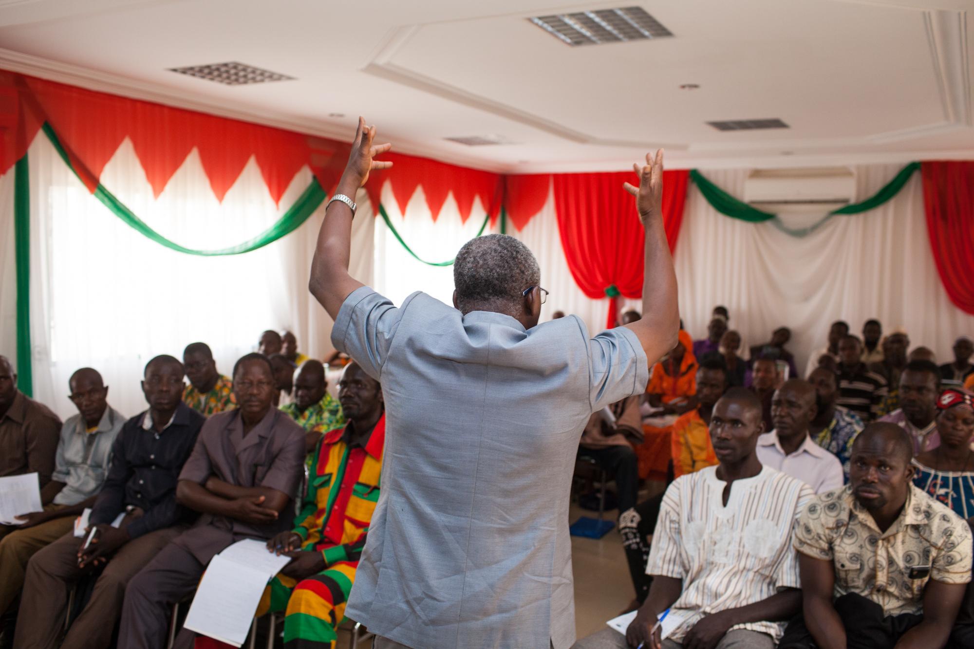 Reportage Burkina miel
