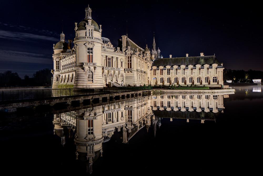 Château de Chantilly par Xavier Dumoulin photographe Pau