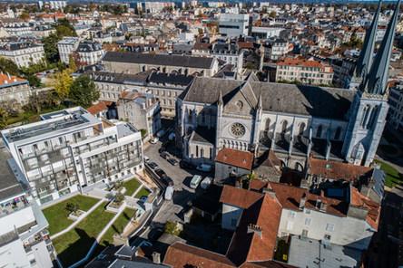 Photos drone Coeur Saint Jacques