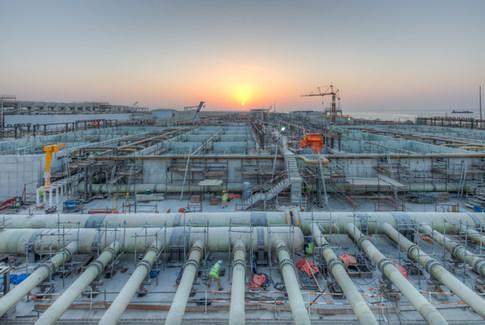 Chantier Usine dessalinisation, Oman