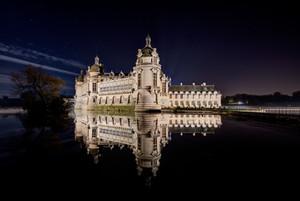 illumination du château de Chantilly