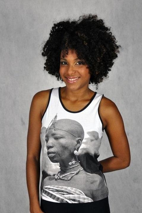 Camiseta Regata Africana (iaô)