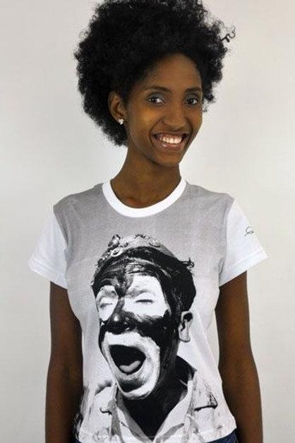 Camiseta baby Look Bumba-meu-boi