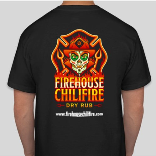 firehouse chilifire t-shirt (short sleeve) (full color)