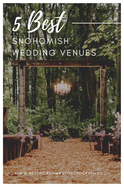 5 best snohomish wedding venues