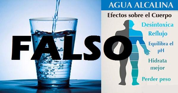 La estafa del agua hidrogenada