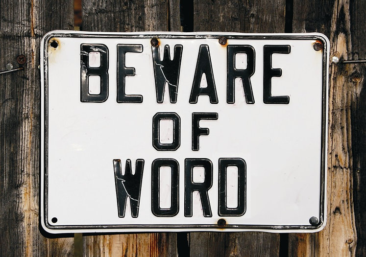 Beware of word_60x80cm_2013_thornton_low