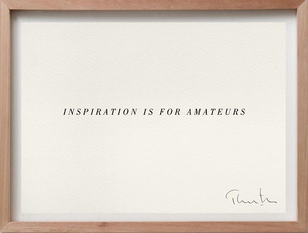 Inspiration is for amateurs_2014_thornton