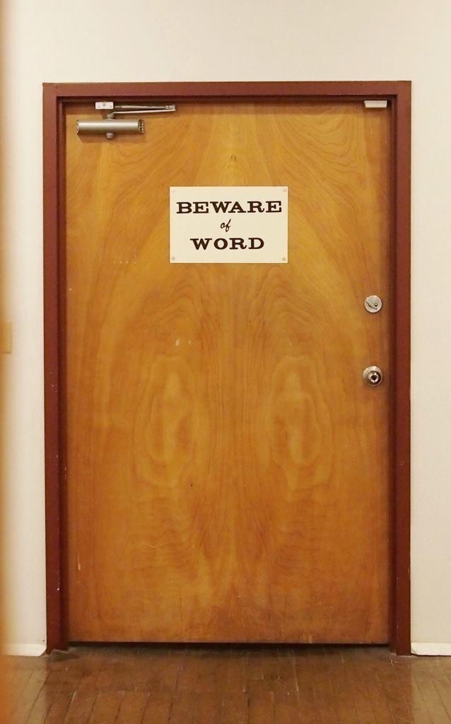 Beware of Word