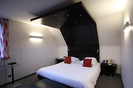 Chambre - l'hôtel Le Chambard