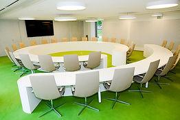 Table de réunion CUS Habitat - Strasbourg