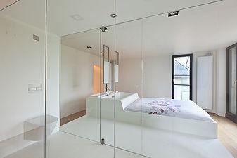 Chambre et dressing design