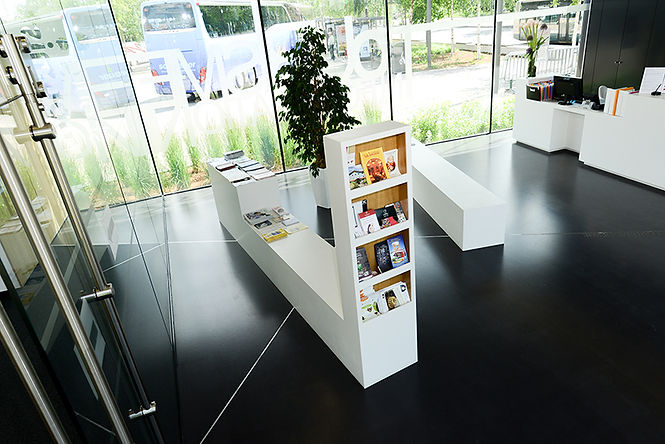 Accueil de l'office de tourisme - Strasbourg
