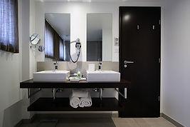 Salle de bain - l'hôtel Le Chambard