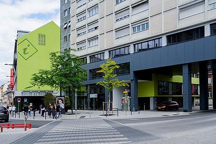 Façade - l'Office de tourisme de Mulhouse