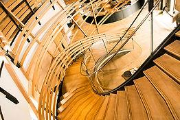 Escalier de la Brasserie Haras de Strasbourg