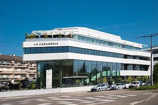 Façade centre d'affaire Agipi à Schiltigheim