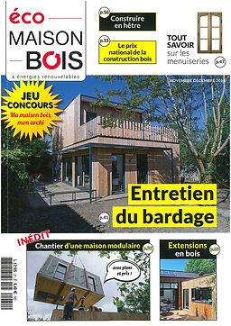 Eco Maison Bois consacre un article à l'Arche du bois